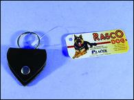 Adresář DOG FANTASY kožený srdíčko (1ks)