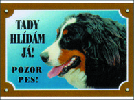 Tabulka DAFIKO bernský salašnický pes (1ks)