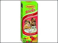 Tyčinky AVICENTRA ovocné pro malé hlodavce (2ks)