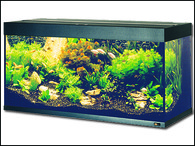 Akvárium JUWEL set Rio 180 černé (180l)