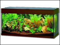 Akvárium JUWEL set Rio 180 tmavě hnědé (180l)