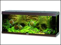 Akvarium JUWEL set Rio 400 tmavě hnědé (450l)