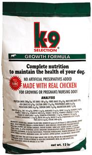 K-9 Growth pro štěňata 12 kg