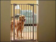 Zábrana dveřní DOG BARRIER vnitřní 107 cm (1ks)