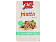 Kapsička RINTI Filetto kuře + kuřecí játra (125g)