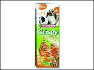 Tyčinky VERSELE-LAGA Crispy s mrkví a petrželkou pro králíky a morčata (110g)