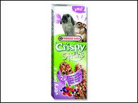 Tyčinky VERSELE-LAGA Crispy s lesním ovocem pro králíky a činčily (110g)