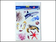 Dekorace TETRA DecoArt samolepky moře (13ks)