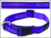Obojek ROGZ Fancy Dress Armed Response Purple Chrome XL (1ks)