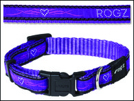 Obojek ROGZ Fancy Dress Scooter Purple Chrome M (1ks)