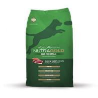 NutraGold Duck&Sweet Potato GRAIN FREE 13,6 KG