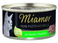 Konz.Miamor Feine Filets Naturelle bonito-tuňák ve šťávě 24*80g