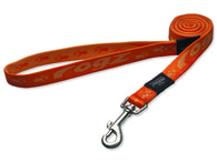 Vodítko Alpinist oranžové 2x180cm