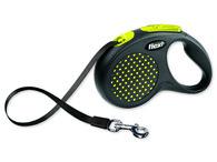 Vodítko Flexi Design páska M-L 5m žluté