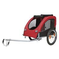 """Vozík pro psa za jízdní kolo """"M"""" 45x48x74cm do 30 kg"""