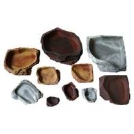 Lucky Reptile nádobky pro krmení a napájení Watáž: cca. 15x12x3 cm, Balení: Napáječka Granite střední