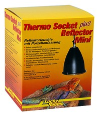 Lucky Reptile Thermo Socket plus Reflector Balení: Thermo Socket + Reflector mini