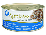 Konzerva APPLAWS Cat Tuna & Crab (70g)