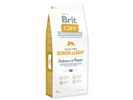 Brit Care Grain-free Senior & Light Salmon & Potato 12 kg