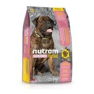 S8 Nutram Sound Adult Dog Large Breed - pro dospělé psy velkých plemen 13,6 kg
