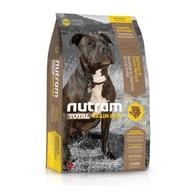 T25 Nutram Total Grain Free Salmon Trout Dog - bezobilné krmivo, losos a pstruh, pro psy 13,6 kg