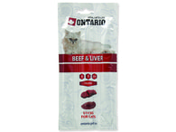 ONTARIO Stick for cats Beef & Liver (15g)