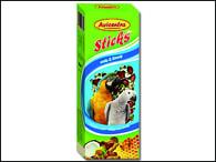 Tyčinky AVICENTRA ořechové pro velké papoušky (2ks)