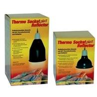 reflektor s objímkou pro žárovky Zboží: Thermo Socket + Reflector malý Bílý
