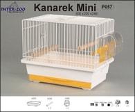Klec KANÁREK MINI - bílá 300x200x240mm DOPRODEJ