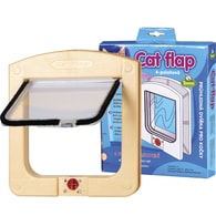 Cats Flaps - kočičí dvířka, písková