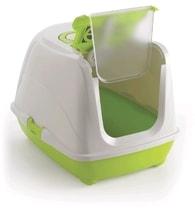 WC Flip Cat zelené s vybavením L, 39x50x37cm