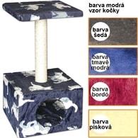 Škrábadlo Carmen modré-kočky