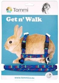 Nylonový postroj + vodítko pro králíky