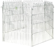 Ohrádka pro štěňata, 6ks - 80x63cm