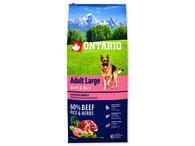 ONTARIO Adult Large Beef & Rice (12kg)