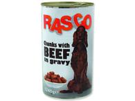Konzerva RASCO hovězí kousky ve šťávě (1240g)