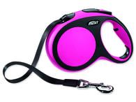 Vodítko FLEXI New Comfort páska růžové L - 5 m (1ks)
