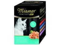 Kapsičky MIAMOR Feine Filets Mini multipack 4 x 2 x 50 g (400g)