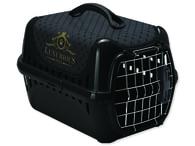 Přepravka MAGIC CAT Luxurious plastová černá (1ks)