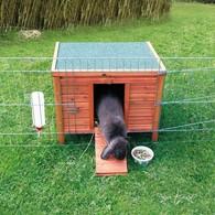 Dřevěný domek NATURA králík 60x47x50cm