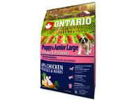 ONTARIO Puppy & Junior Large Chicken & Potatoes & Herbs (2,25kg)