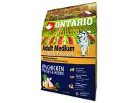 ONTARIO Adult Medium Chicken & Potatoes & Herbs (2,25kg)