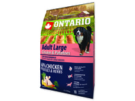 ONTARIO Adult Large Chicken & Potatoes & Herbs (2,25kg)