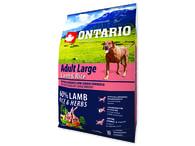ONTARIO Adult Large Lamb & Rice & Turkey (2,25kg)