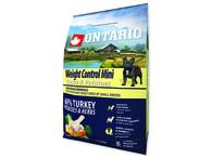 ONTARIO Mini Weight Control Turkey & Potatoes (2,25kg)