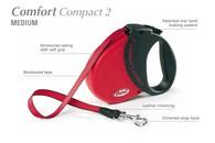 Flexi COMFORT COMPACT 2 Medium 5 m pásek