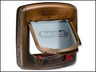 Dvířka STAYWELL hnědá magnetická 420 (1ks)