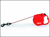 Vodítko FLEXI Mini 3 červené (1ks)