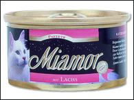 Paštika MIAMOR losos (85g)