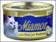 Konzerva MIAMOR Filety tuňák + křepelčí vejce (100g)